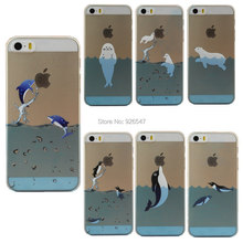 New Phone Case For Japan Sea Animals in Design Phone Case Cover For Apple i Phone iPhone 5 5S Free Shipping