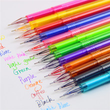 12P Support New Novelty Candy Colors Colorful Gel Pen Set School Supplies Colored Gel Pens