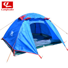 Professional tent three double aluminum pole tent outdoor tent ultralight Starry Night camping hiking travel tent
