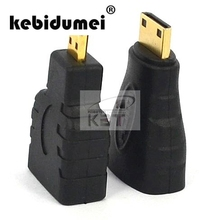 kebidumei1pair Standard HDMI to Mini / Micro HDMI Adapter Converter Connector for PS3 Xbox 360 1080P HD For Laptop HDTV Monitors(China)