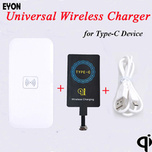 Buy EYON TI Chipset Type-C Qi Wireless Charger Charging Receiver +Pad HUAWEI P9 P10 Xiaomi Mi6 5S 4S OnePlus 2 3 HTC 10 LG G6 for $10.34 in AliExpress store