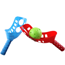 Children Throwing and Catching The Ball Toys Set Parent-child Interactive Handball Indoor Outdoor Sports Game Kids Gifts 2018(China)
