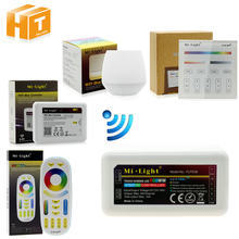 Mi Light Full Color LED Controller RF 2.4G / Wifi Remote Control DC12-24V for RGB+CW+WW LED Strip.(China)