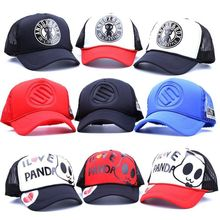 2017 summer new Cartoon One Piece Breathable Baseball Cap Snapback Vintage Hat women Men's Gorras Fashion eye Baseball Cap