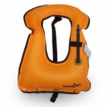 1pc Mens Snorkeling Gear Swimwear Inflatable Adult Life Jackets Vest Swimwear free shipping(China)