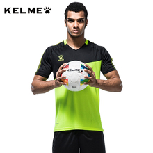KELME Men Soccer Jerseys 2017 Survetement College Uniform Football Short Sleeve Shirt 2016 Maillot De Foot Training Sport K078