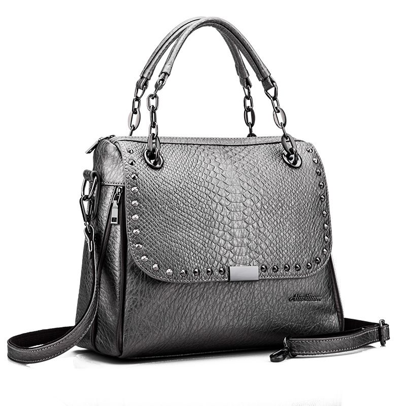 Crocodile Women Bag\Handbag 2017 New Fashion Retro ladies Tote Shoulder bag\Messenger Bag~13B95<br><br>Aliexpress