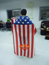 United States national body fans flag ,100% polyester 75*120cm can be custom different size(China)