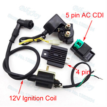 Regulator Rectifier Relay 12V Ignition Coil AC CDI For Chinese ATV Quad 50cc 70cc 90cc 110cc Motorcycle Motocross