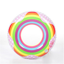baby Swimming Rings Pool Float summer love kids Swimming Ring Floating Rings Inflatable Toy Life Buoy 60~90cm PVC hot selling(China)