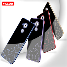 Huawei Mate 8 case soft Silicon thin TPU luxury protector back cover fundas Huawei Mate8 phone case original 360 Yagoo new 2017(China)