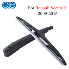 Oge 12'' Rear Wiper Blade And Arm For Renault Scenic 3 2009 2010 2011 2012 2013 2014 2015 2016 Windscreen Car Auto Accessories