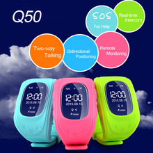Free Shipping alarm clock gps tracker wrist watch cell phone Watch bracelet android watch for children(China)