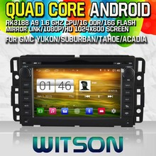WITSON Android 4.4 CAR DVD Player for GMC YUKON/SUBURBAN /TAHOE/ACADIA Capctive Screen GPS Navi Car Stereo Bluetooth mirror link(China)