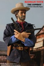 "REDMAN TOYS 1/6 scale doll model COWBOY Clint Eastwood in The Outlaw Josey Wales.12"" action figure doll.Collectible Figure toy."