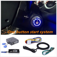 Auto Car Alarm Engine Star line Push Button Start Stop Safe Lock Ignition Switch Keyless Entry Starter Anti-theft System 2 way