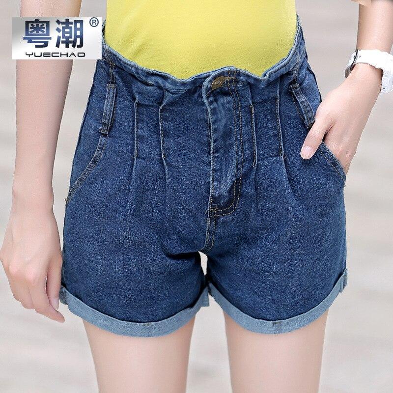 Шорты женские 2017 джинсовые