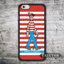 Where Is Wally Now font b Case b font For font b iPhone b font 7