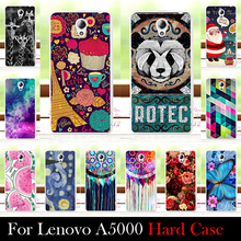 High Quality Transpatent Soft Silicone tpu Color Paint Painting Case For Lenovo A5000 A 5000 Mobile Phone Cover Case