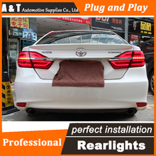 Car Styling LED Tail Lamp for Toyota Camry Taillights 2015 New Camry Rear Light DRL+Turn Signal+Brake+Reverse auto Accessories l
