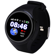 Kids Touch Screen GPS Smart Watch WIFI Positioning Children Old man phone SOS Baby Tracking Watch Anti Lost Tracker SIM Card(China)