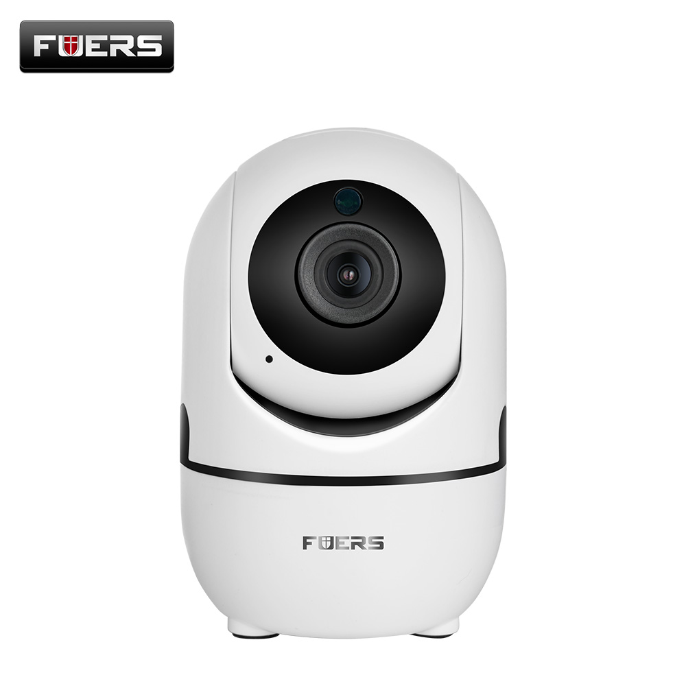 FUERS Wireless Indoor Mini Full HD Home Security Wifi 1080P IP Camera Wi-Fi Infrared Camera Baby Monitor Surveillance Camera<br>