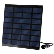 DHDL-Brushless DC Solar Water Pump Power Panel Kit Fountain Pool Garden Watering Pumb