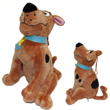 New Arrivals 1 piece 18/25cm Soft Plush Cute Scooby Doo Dog Cute Dolls Stuffed Plush Toy New Year Xmas Gifts(China)