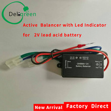 1S 2V lead acid battery balance equalizer BMS AGM GELL FLOODED  with led indicator for 4V till 1000V anti sulfuration vulcanizat