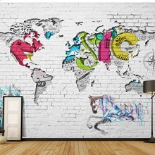 World Map Wallpaper For Kid PromotionShop For Promotional World Map - World map mural for kids