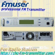 CZH618F 5w fm radio broadcast  transmitter PLL stereo fm broadcast transmitter small fm radio staion equipment 81-108MHz