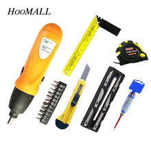 Hoomall Electric Screwdriver 6V Battery Operated Cordless Screwdriver Drill Tool Multiple Specifications Accessories Household(China)