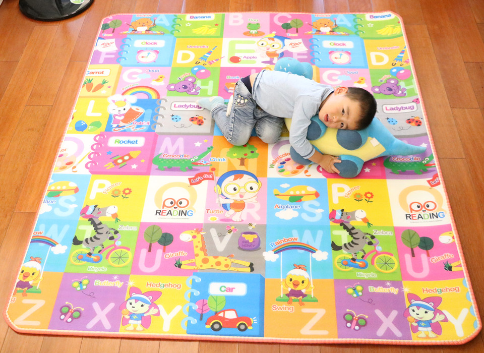 10 mm Thick Double Sides Children Play Mat Waterproof Kids Beach Picnic Mat Soft Eva Foam Carpet Rug Baby Crawling Mat Baby Toy 38