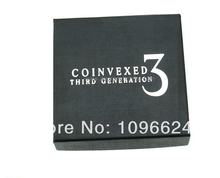 Free Shipping!Coinvexed 3rd Generation Upgrade Kit,card mental stage close up magic props