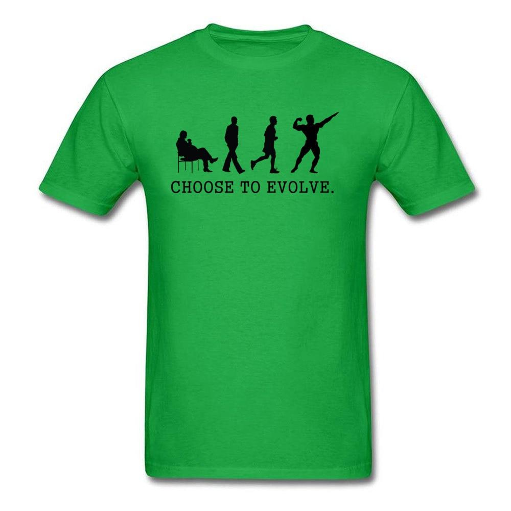 Choose to Evoe Tops Shirt Fashion O-Neck Printed Short Sleeve 100% Coon Fabric Student T Shirt Design Tee Shirts Choose to Evoe green