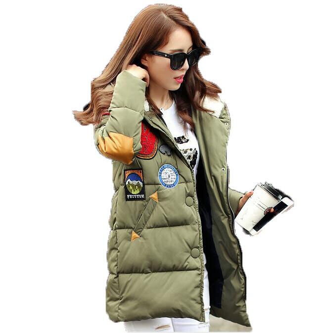 New Brand  2017 winter jacket women Long Casual Fashion Women Parka Female Hooded Coat Parka  Cold Warm outwear Plus Size M-3XLÎäåæäà è àêñåññóàðû<br><br>