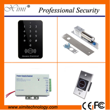 Cheap door access control with magnetic lock proximity card access control single door lock