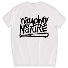 Allover NAUGHTY BY NATURE Cotton T shirt hip hop Down Wit OPP rap Tee(China)
