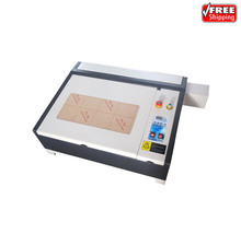 4040 50W CO2 laser engraver with 50W laser tube honeycomb equips super quality with all functions