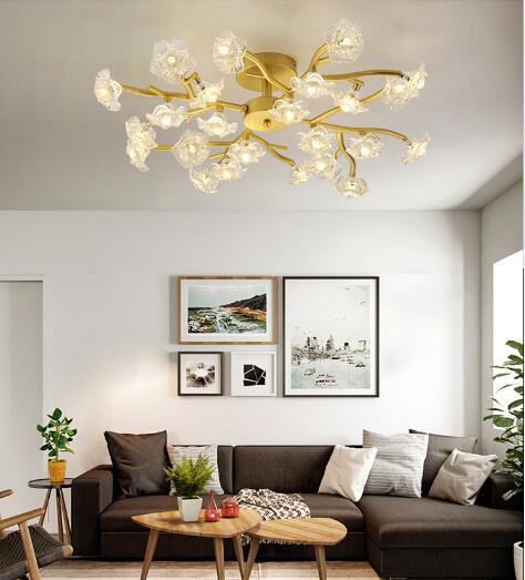 DX Vintage Flower Ceiling Light (5)