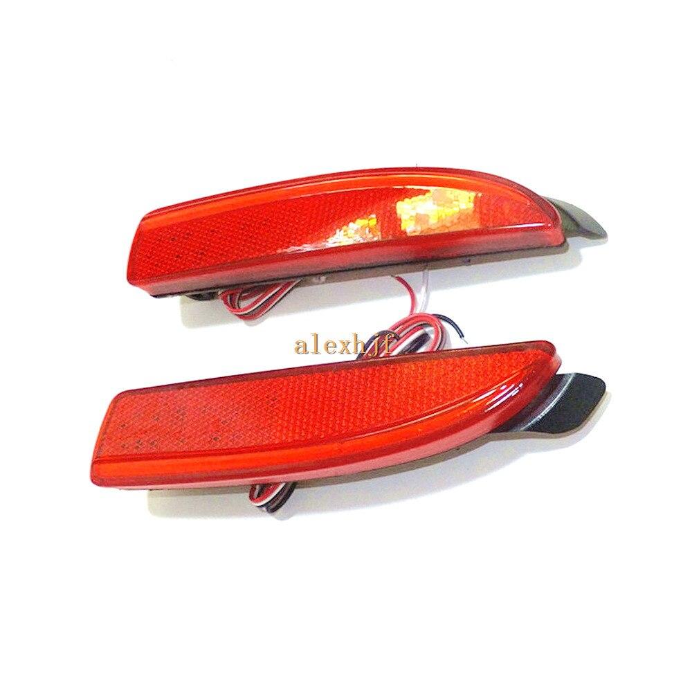 July King Car LED Brake Llights, LED Rear Bumper Fog Lamp Case for Mazda 5 2011~ON, Night DRL+ Brake Lights<br>