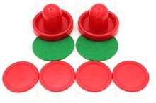 76mm diameter Air hockey set hitting table ice horckey accessories random color(China)