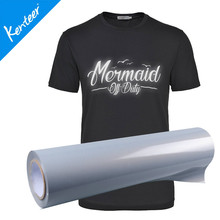 Q8 Kenteer Low Price 0.5*25m One Roll Reflective Heat Transfer Vinyl For Garment