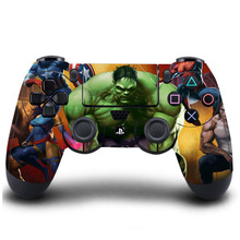 HOMEREALLY PS4 Controller Skin The Hulk Classic PVC HD Sticker Full Cover For Sony Play Station 4 Wireless Controller Skin(China)