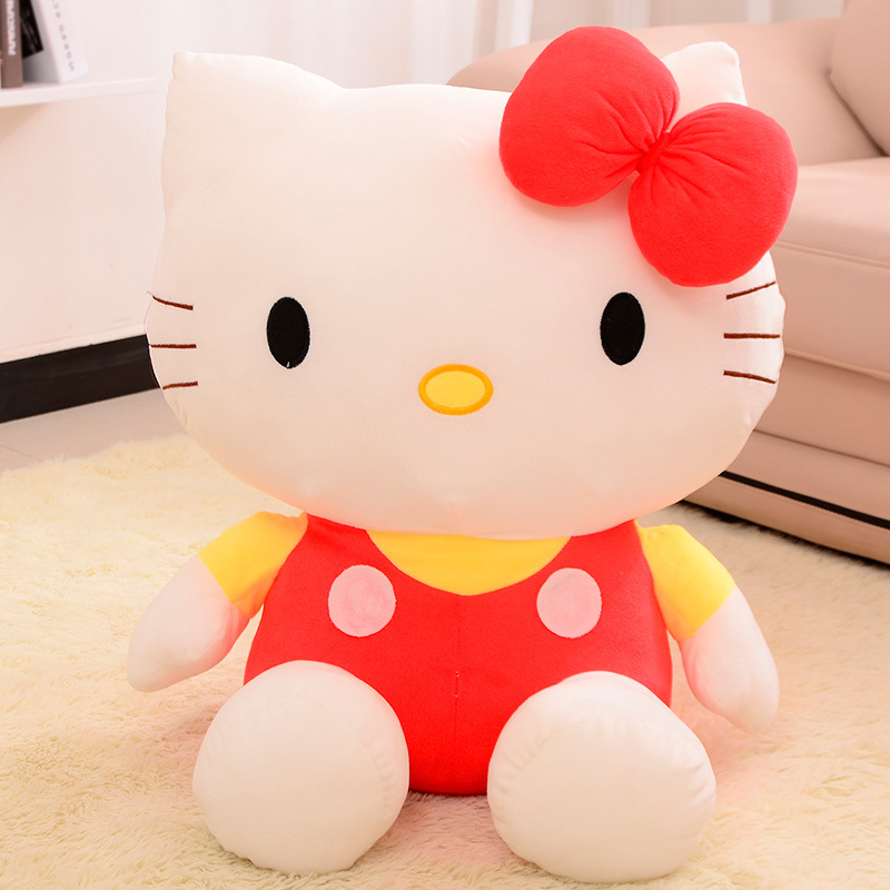 20cm High Quality Hello Kitty Plush Toys Cute Anime Plush Toys Children's Gift Toy Kids Cartoon Hello Kitty Plush Doll(China (Mainland))