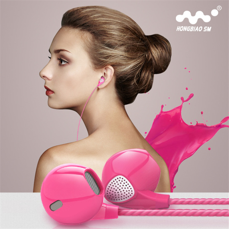 Earphone For For Apple EarPods  In-Ear Heavy Bass Headphones fone de ouvido Music Headset auriculares For iPhone 5 5S 5C 6 6Plus<br><br>Aliexpress