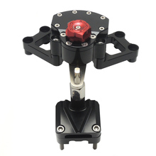 For KAWASAKI NINJA Motorcycle Steering Damper For KAWASAKI EX250/NINJA 250R/NINJA 300 2008-2015 13 14 15 after market