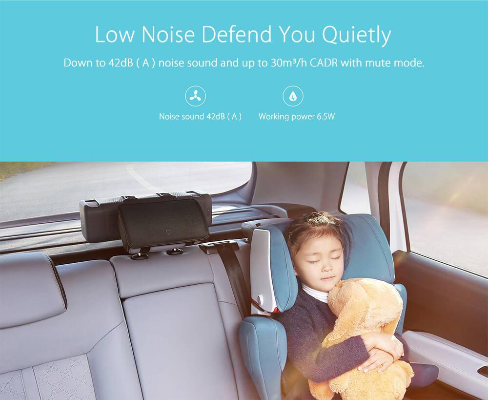 2018 New Original Xiaomi Car Air Purifier for car air cleaning In Addition To Formaldehyde Haze Purifiers Intelligent Household (8)