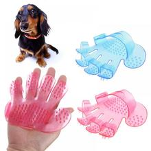 Newest Hand Shaped Pet Dog Puppy Cat Grooming Bath Massage Rakes Brush Comb Cleaner Scalp Home Drop Shipping