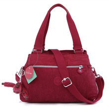 water resistant nylon ladies tote bag monkey women's handbags with one shoulder strap (HB15-03)(China)